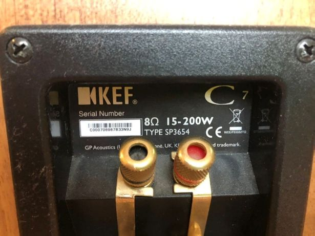Продам срочно HI-FI акустику kef C7 \ kef C3 \ kef C4 \ kef C6LCR