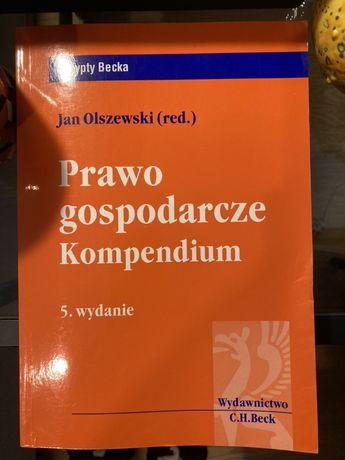 Prawo Gospodarcze Kompendium Jan Olszewski