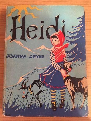 Livro Heidi Antigo Colecção 1961