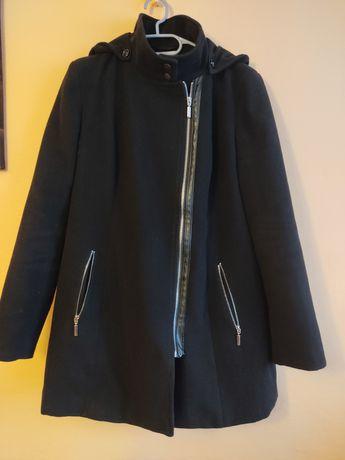 Płaszcz czarny zimowy rozmiar xl