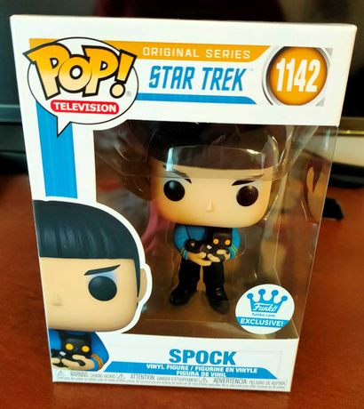Funko POP - Spock - Star Trek (Exclusive Edition) #1142