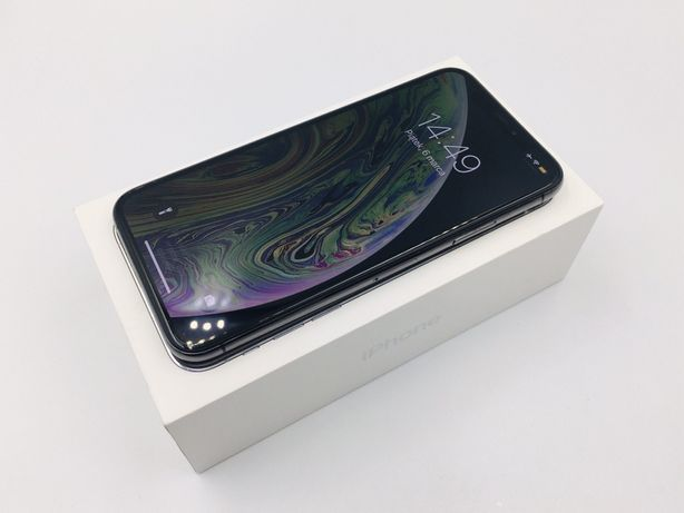 PROMOCJA • iPhone XS 64GB Space Gray • GWARANCJA 1 MSC • AppleCentrum