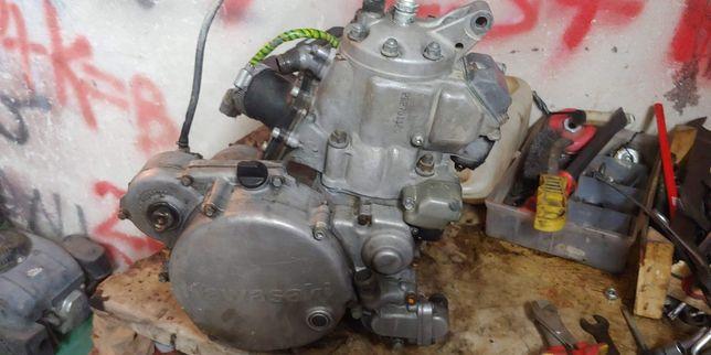 Kawasaki kx 250 kartery skrzynia wał dyfuzor cylinder części