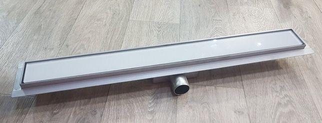 Трап для душа 700 мм для ванной комнаты нержавеющая сталь AISI 304