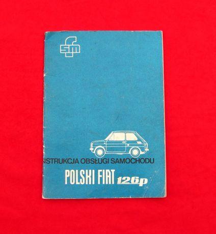 Instrukcja obsługi Fiat 126p 126 1 seria 1974r.