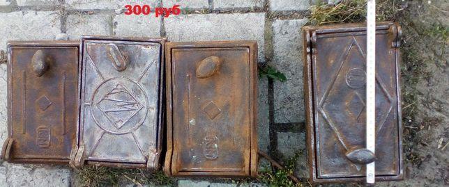 Дверцы поддувальные 300р/шт