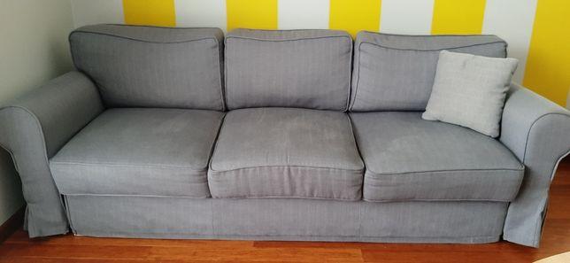Kanapa, Sofa rozkładana 3 osobowa Szara. Duża i długa.Sprawdź