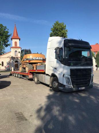 Transport niskopodwoziowy maszyny rolnicze budowlane