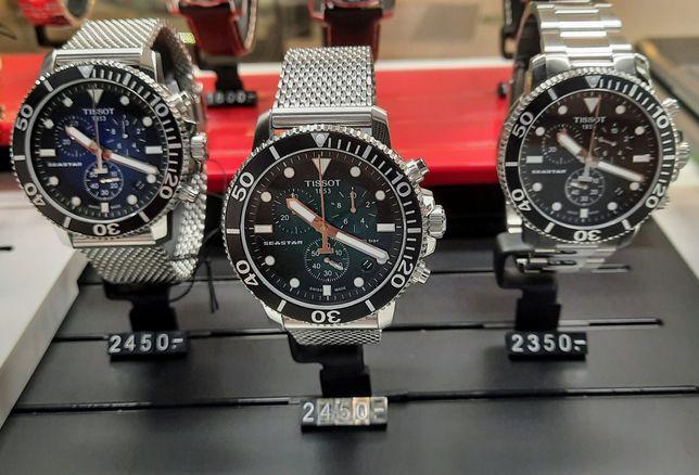 Zegarek Tissot Seastar 30ATM 3 opcje tarcz do wyboru