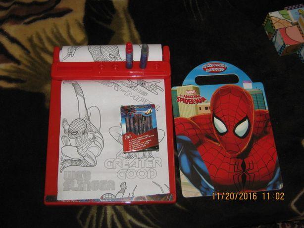 рисовалка человек паук