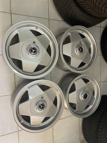 """Jantes 15"""" 5x112 Borbet type A Mercedes W123 w126 w124 vw w201 190"""