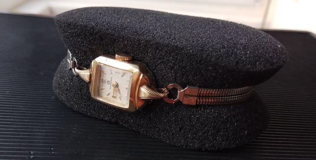 Старинные часы Huguenin, Au 20, Швейцария