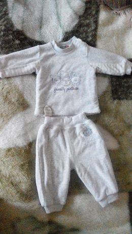 Теплый и уютный костюмчик на малыша