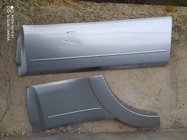 Mitsubishi Pajero Wagon накладка\молдинг\пластик двери