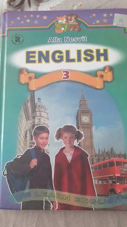 Підручники з англійської мови 3 клас А.Несвіт
