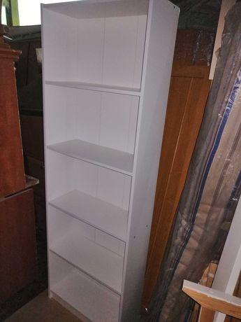 Regał Biały IKEA solidny stabilny