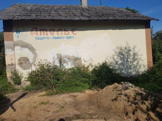 Продається нежитловий будинок площею 70 кв.м+земельна ділянка 6 соток