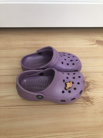 Crocs sandały C8/9 16,5cm oryginalne fioletowe