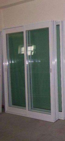 VARIAS Janela Aluminio de Abrir Vidro Duplo - Porta Alumino