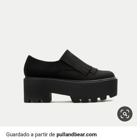 *Novo *Sapatos de mulher pull and bear 36