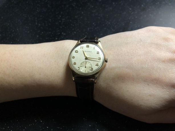 Раритетные золотые часы Movado (swiss made)