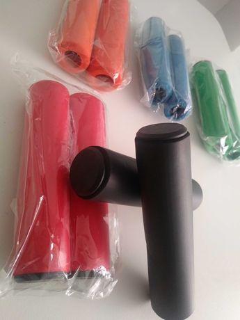 Punhos em silicone para bicicleta 1 par 7€,  2 pares 10€