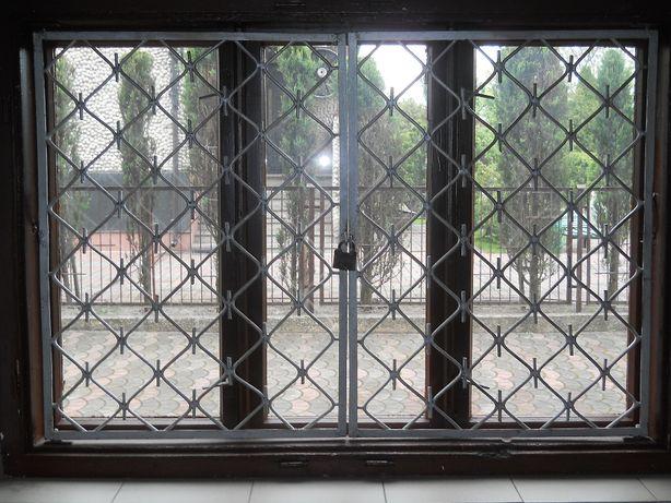 Kraty okienne przeciwwłamaniowe