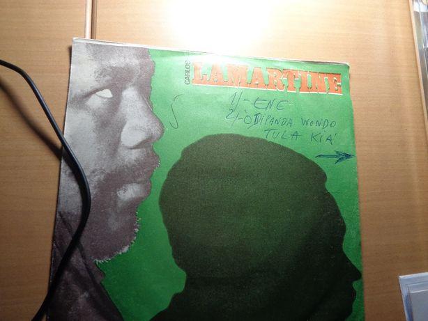 Disco Single Carlos Lamartine Usado Companhia Discos de Angola