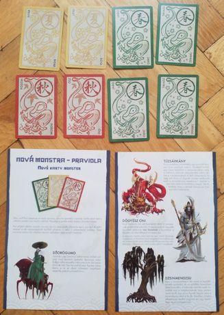 karty: Czech/Hungarian card set for Rising Sun: Monster Pack