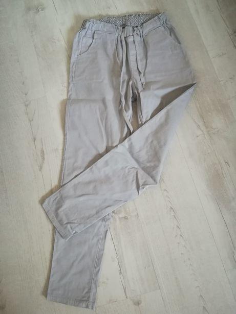 Bawełniane spodnie na gumce