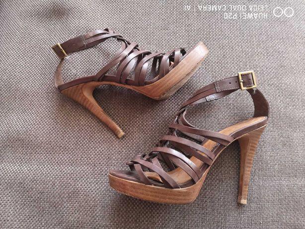 ALDO - piekne sandałki ze skóry 38