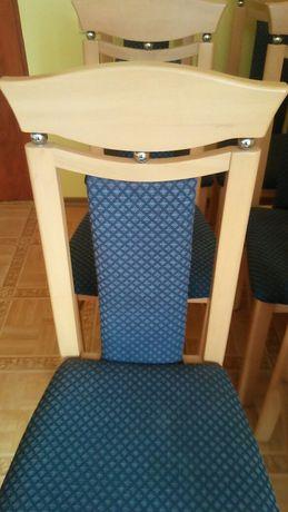 Krzesła 6 sztuk mało używane