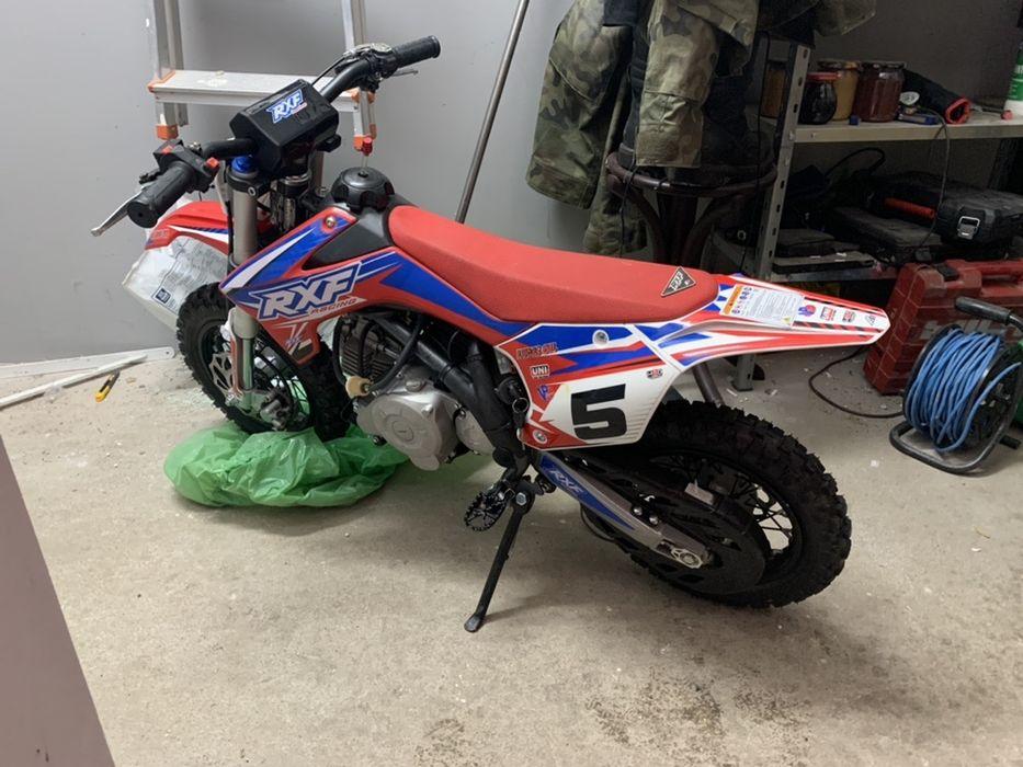 Rxf50 pit bike! Rxf 50 pitbike jak nowy! 18mth Malbork - image 1
