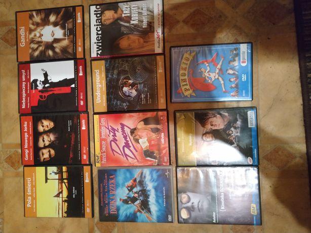 Filmy na DVD 11 szt. Stan bardzo dobry