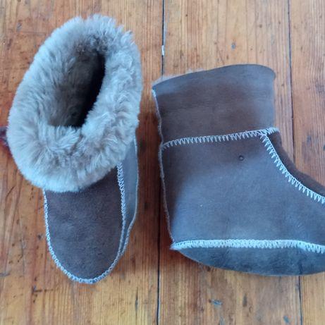 Угги ботиночки теплые
