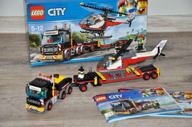 LEGO city Конструктор Перевозчик вертолета (60183)