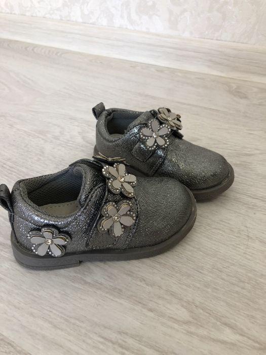 Туфельки для девочки размер 22 Мукачево - изображение 1