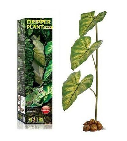 Roślina nawadniająca z pompką DRIPPER PLANT L do terrarium