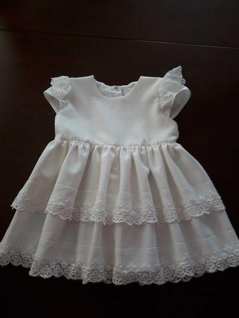 Sukienka wizytowa,do chrztu rozmiar 80