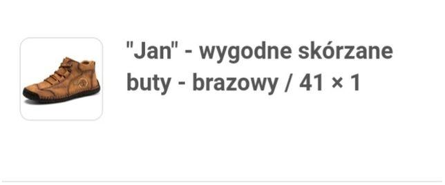 """Buty skórzane """"Jan"""""""