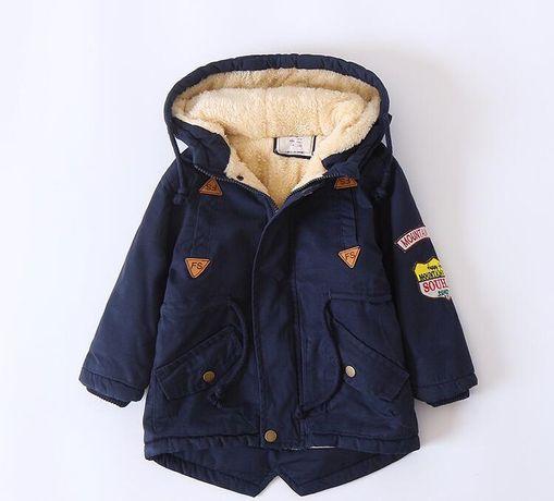 Детская флисовая зимняя куртка ОПТ и РОЗНИЦА