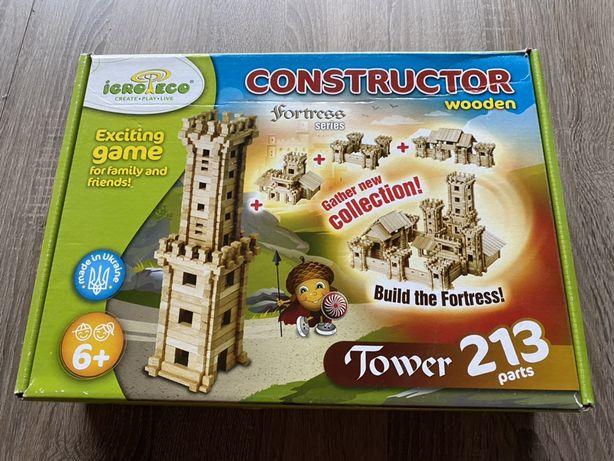 """Zabawka edukacyjna """"Konstruktor Wieża"""""""