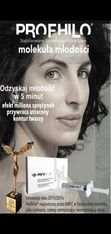 Zabieg PROFHILO - stymulator tkankowy Mezoterapia Będzin
