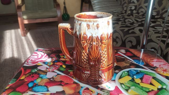Бокал для пива керамика
