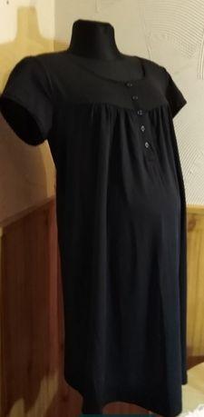 Sukienka ciążowa L/XL Bon Prix czarna