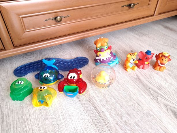 Zabawki do kąpieli wanienki wody basenu Fisher-Price Simba toys