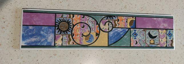 Płytka dekor włoski 11 sztuk