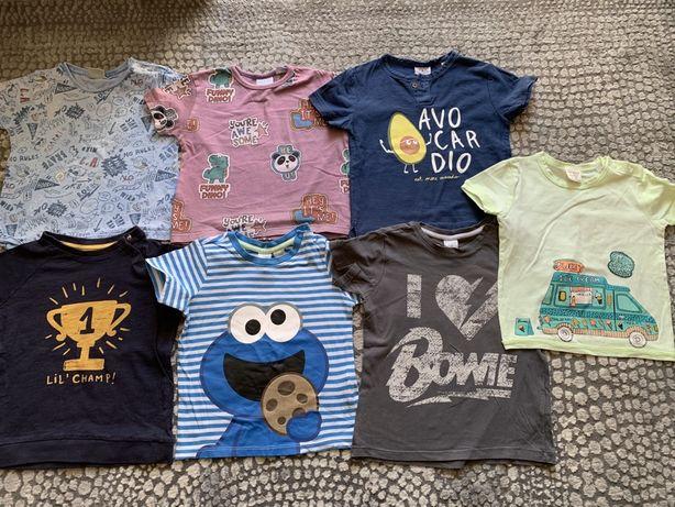 Koszulki t-shirty Zara H&M Reserved