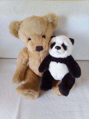 Фирменные игрушки мишка и панда