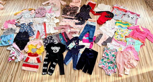 Paka ubran dla dziewczynki, ubranka 80-86, ubrania, paka